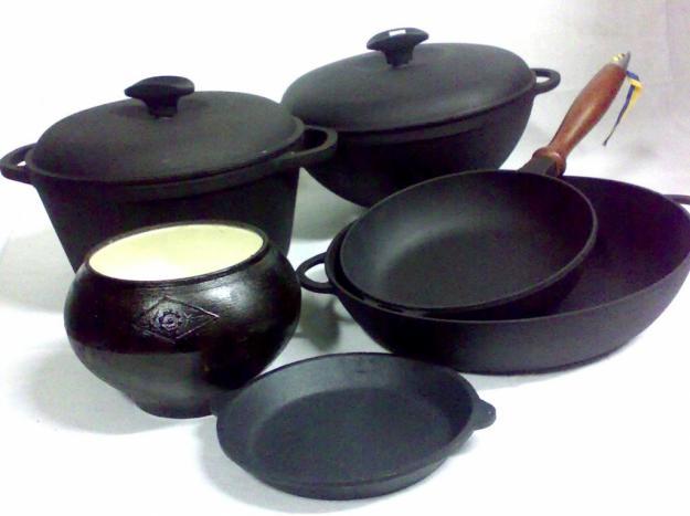 posud chugun Посуда на кухне – продолжаем тему